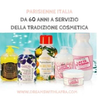 PARISIENNE ITALIA 60 ANNI TRADIZIONE COSMETICA