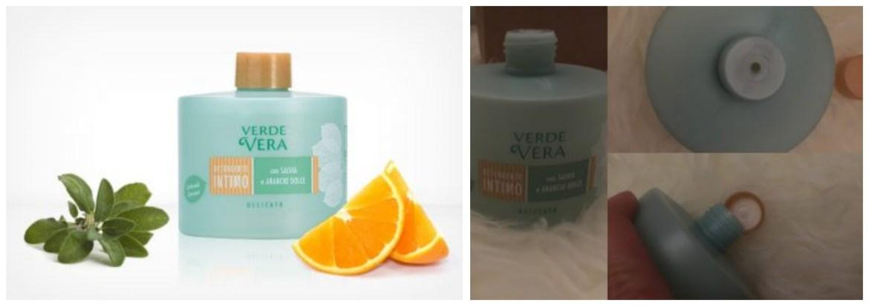 Detergente intimo delicato con salvia e arancio dolce