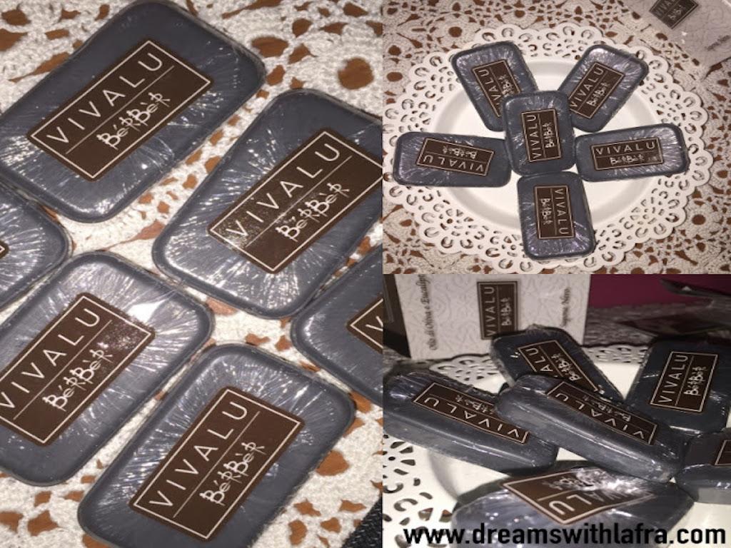 Vivalu Berber sapone nero