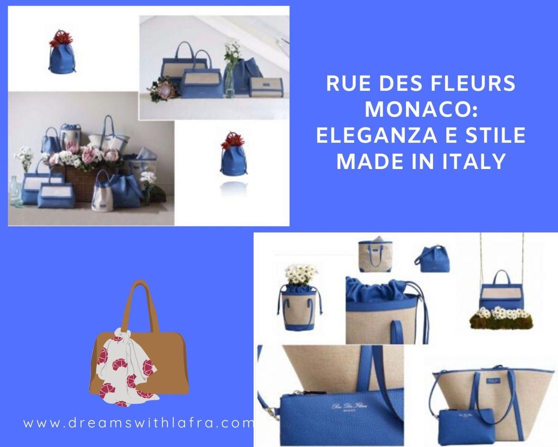 Rue des fleurs Monaco: eleganza e stile made in Italy