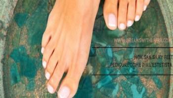Nok San Silky Feet: pedicure come dall'estetista