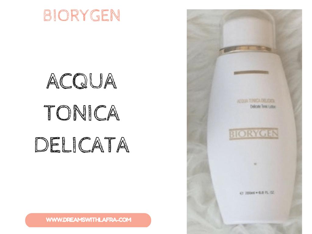 Biorygen: ACQUA TONICA DELICATA