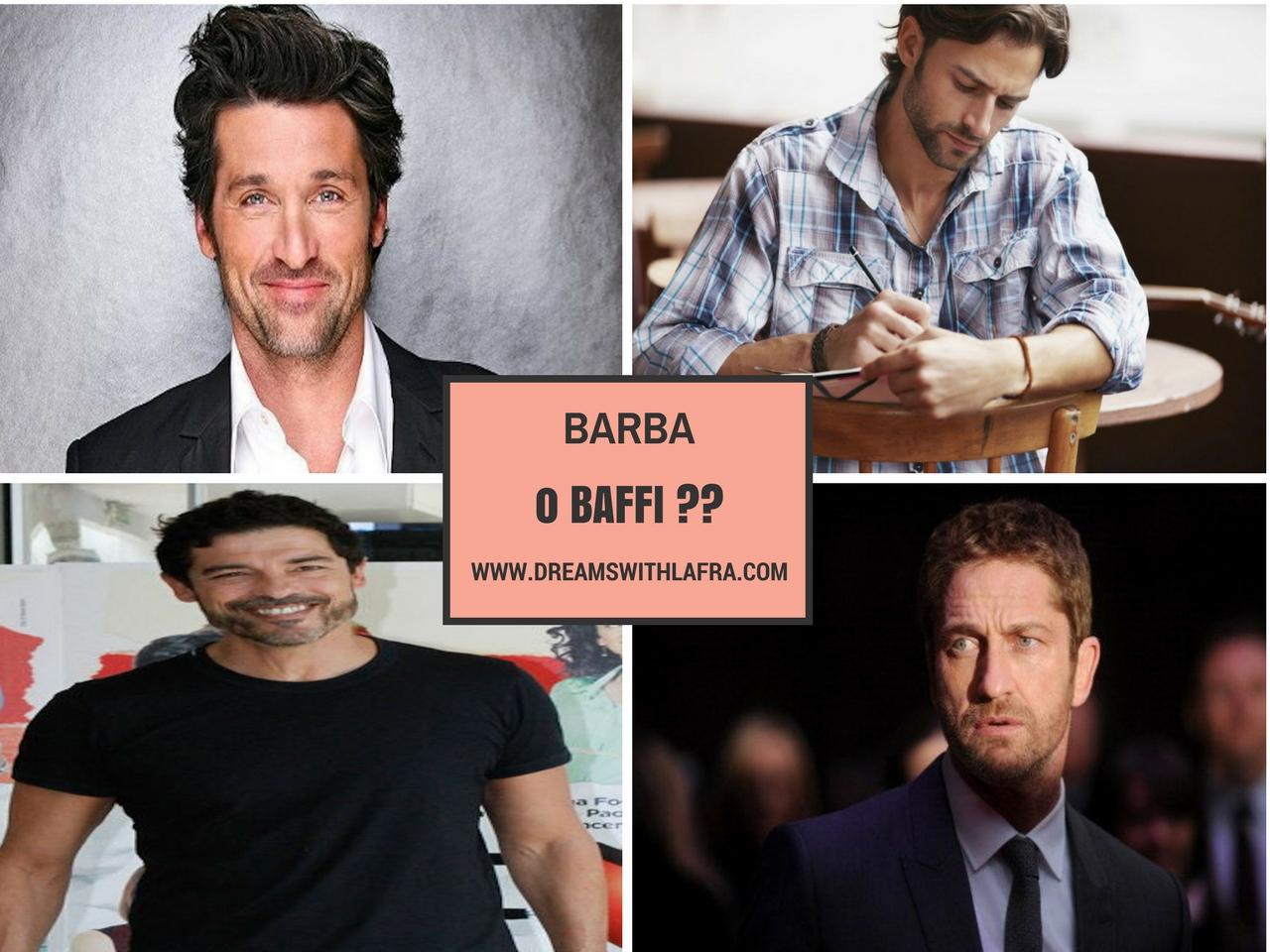 Che tipo di rasatura scegliere: barba o baffi?!