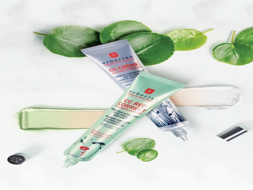 CC Red Correct: la novità Erborian che elimina i rossori della pelle grazie alla Centella Asiatica