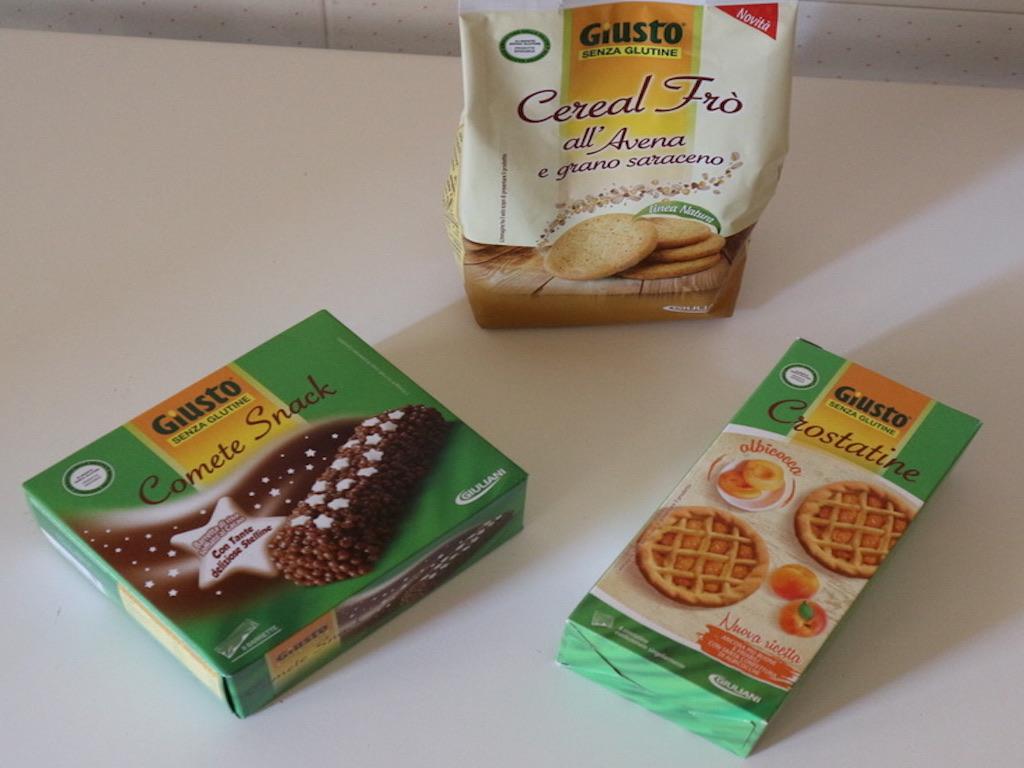 Giusto® Senza Glutine: i dolci e le merende
