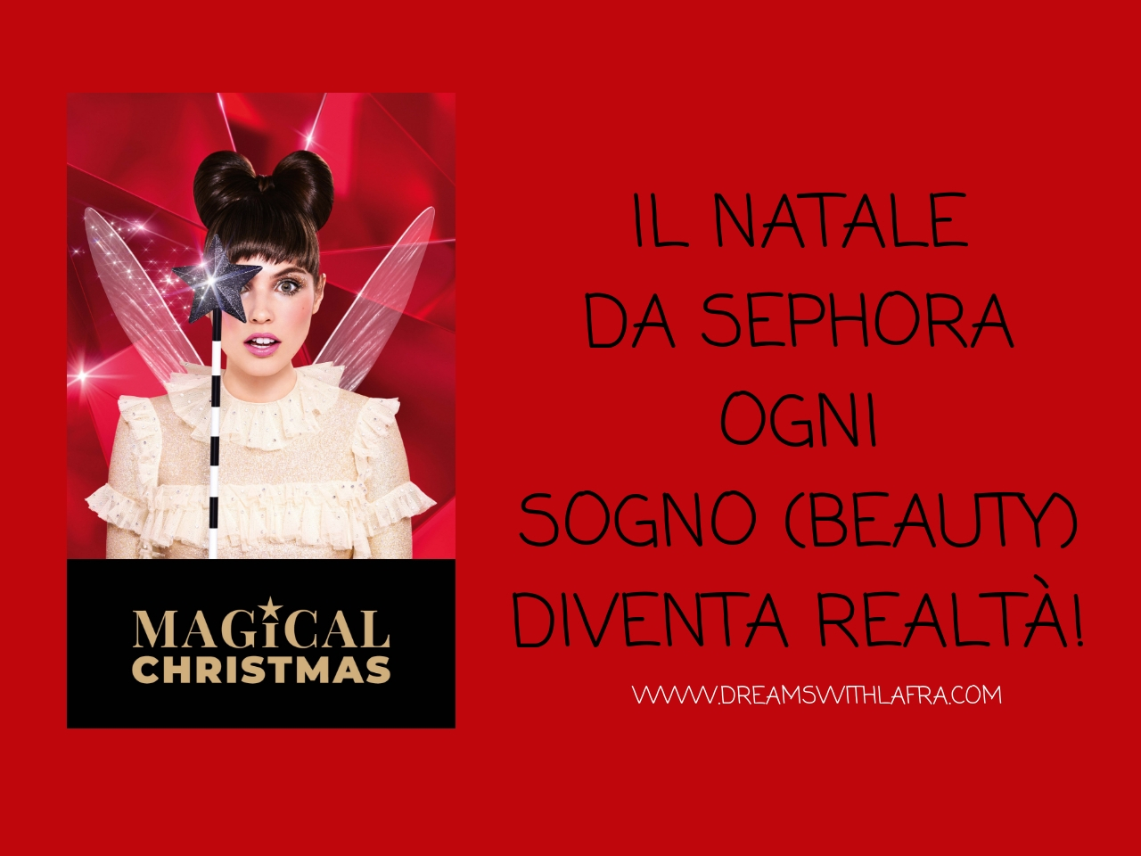 Il Natale da Sephora ogni sogno beauty diventa realtà