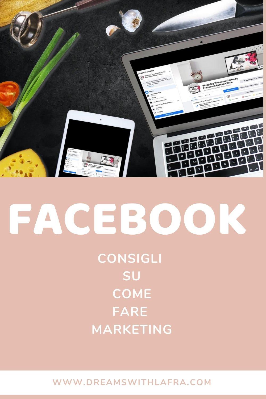 facebook consigli su come fare marketing