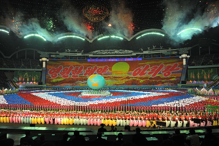 The biggest stadium in the world is in North Korea, and it ...