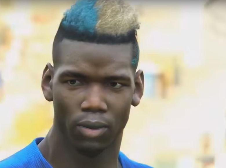 Paul Pogba looks photorealistic - this was taken using PES 2019's replay function