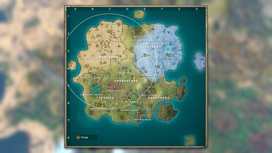 Realm Royale The Best Landing Locations To Get A Crown Royale