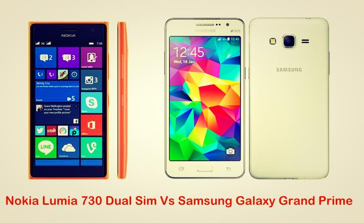 Nokia Lumia 730 Dual Sim Vs Samsung Galaxy Grand Prime
