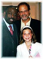 Mark, Maya and Les Brown