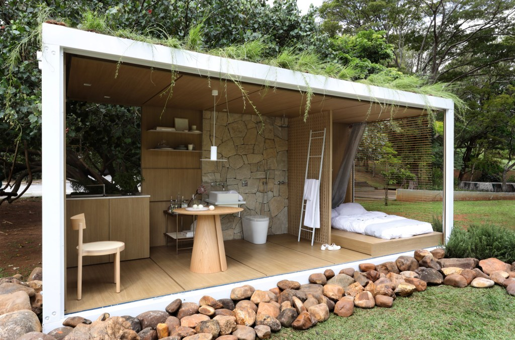 Amazing Container in Harmony with Nature by Elo Studio 2
