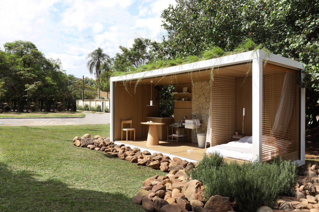 Amazing Container in Harmony with Nature by Elo Studio 9