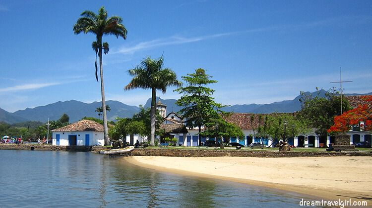 It is easy to dream in Paraty