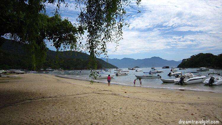 Ilha Grande, in the coast of Brazil