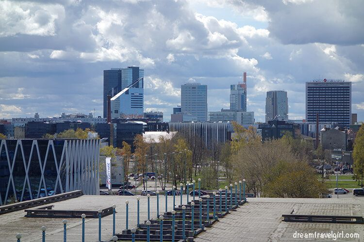 city view from Linnahall