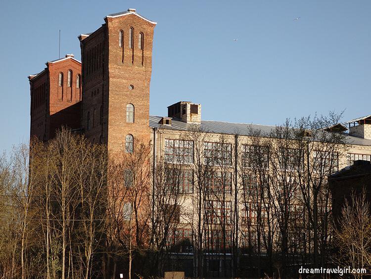 old textile building