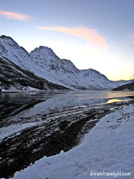 Fjord near Tromso (North of Norway)