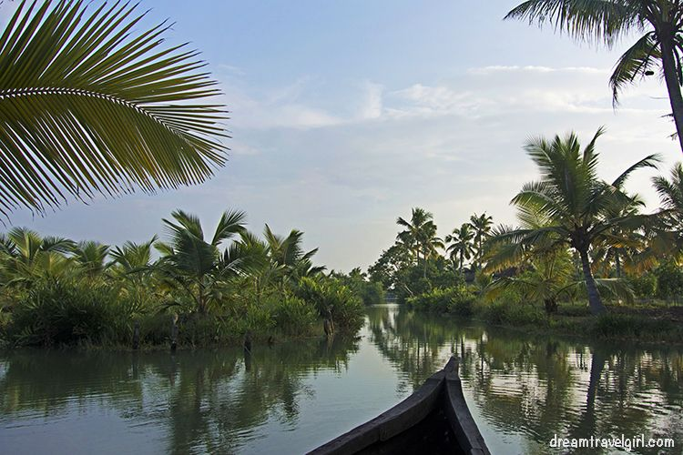 Munroe Island, backwaters of Kerala, India