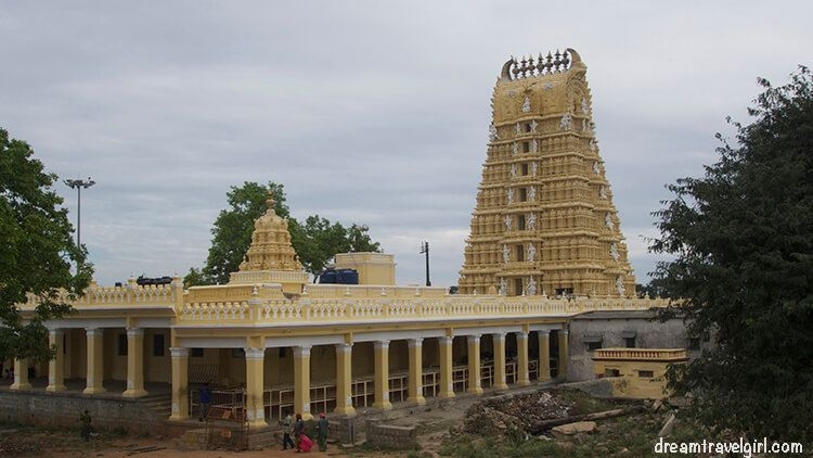 Chamundeshwari temple on Chamundi hill