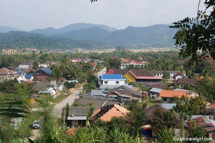 Laos_Luang-Namtha_town-view