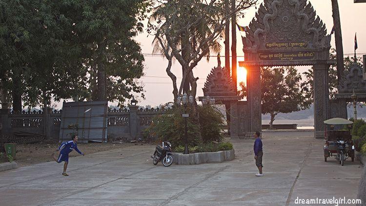 Cambodia_Kratie_men-playing-evening