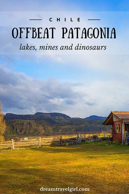 Off the beaten path Patagonia (Chile): lakes, mines and dinosaurs