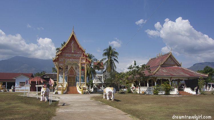 Temple in Champasak