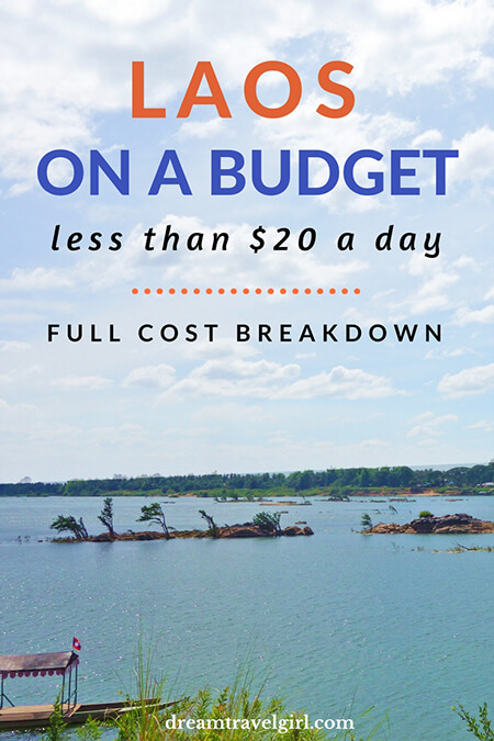 Laos on a budget: full cost breakdown of my total travel cost (less than $20 a day for accommodation, food, transport, visa and visits) and how I did it.