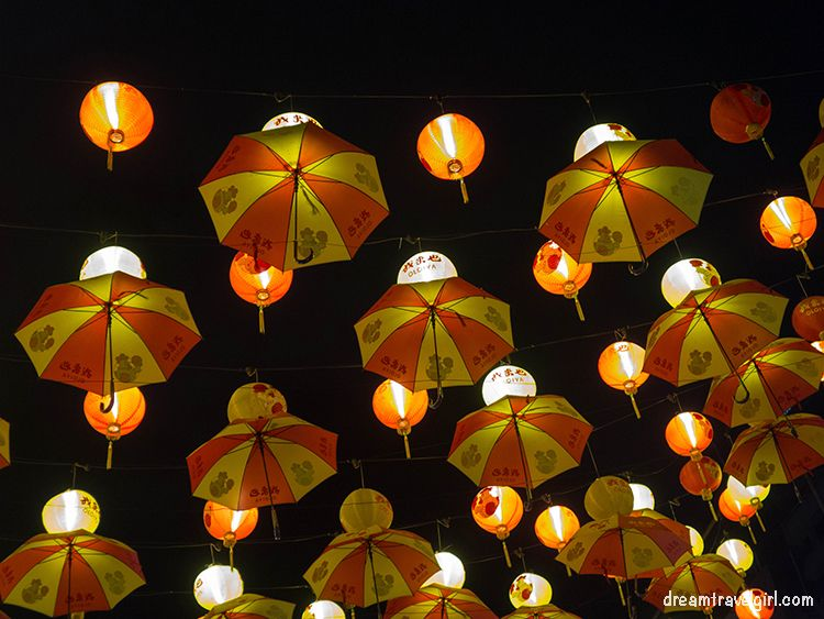 New Year's decoration in Kuala Lumpur