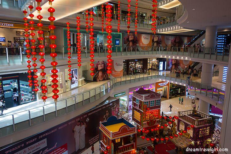 Centro comercial en Kuala Lumpur