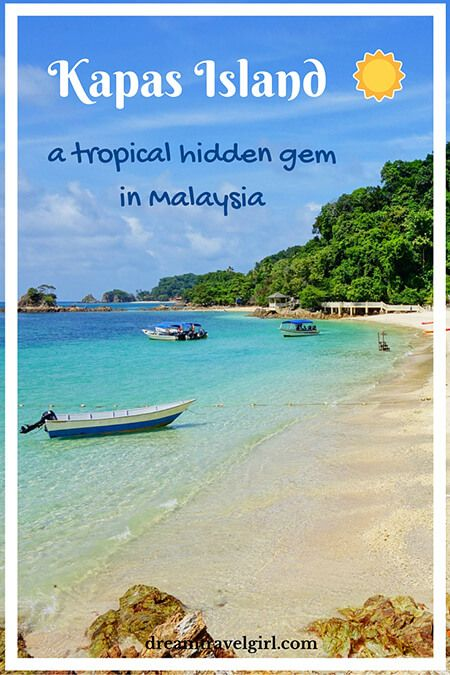 Pulau Kapas (Kapas Island) is a hidden gem, a quiet tropical paradise in the east coast of Malaysia. Discover the beautiful beaches in Kapas island, a relaxing and not crowded island. A great alternative to the famous Perhentian islands. Click to read the full post.