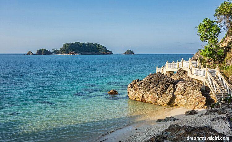 My favorite little beach in Pulau Kapas (Kapas island).