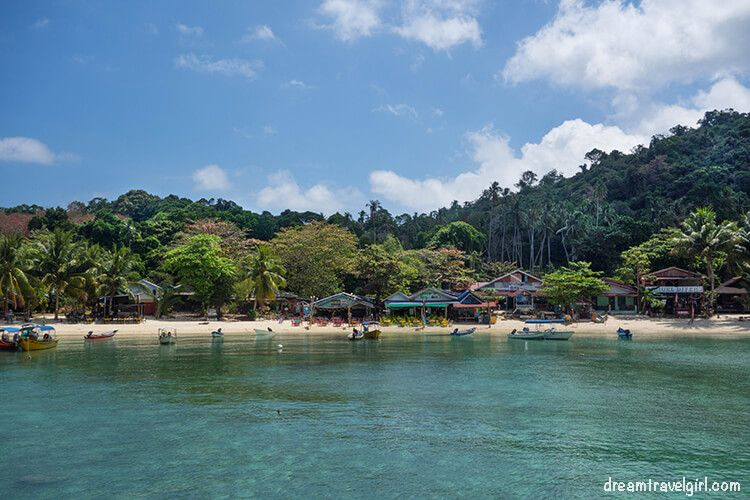 I had just left from Perhentian islands, a tropical paradise.