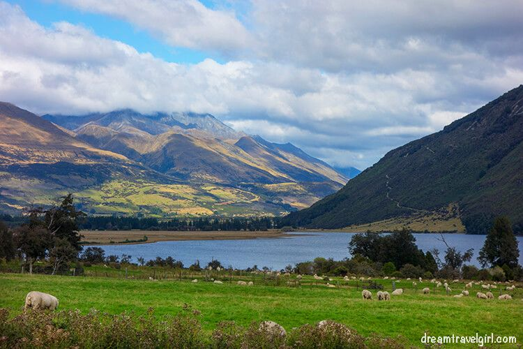Around Glenorchy
