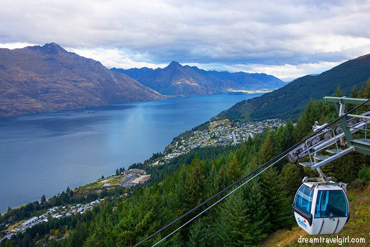 Queenstown from the hill