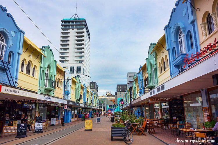 La nueva Regent Street, Christchurch