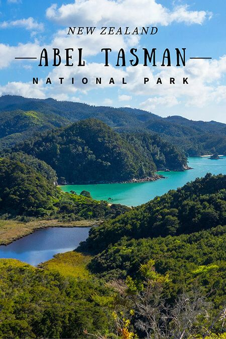 New Zealand travel: Abel Tasman National Park. A perfect combination of forest and beaches, a pleasant place for hiking.
