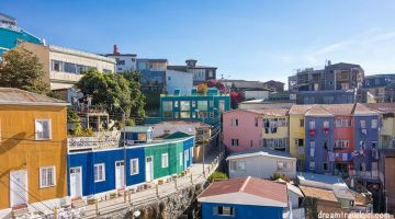 Valparaiso: a colorful historical city by the sea