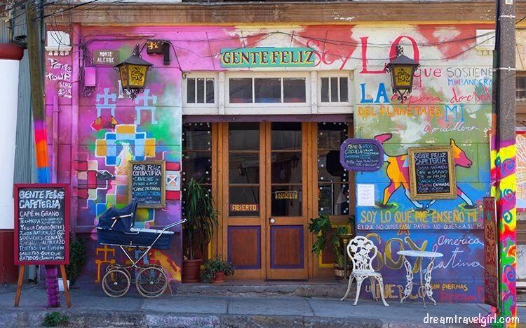 Arte callejero en Valparaiso, Chile