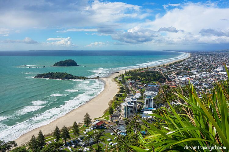 Views from Mount Maunganui