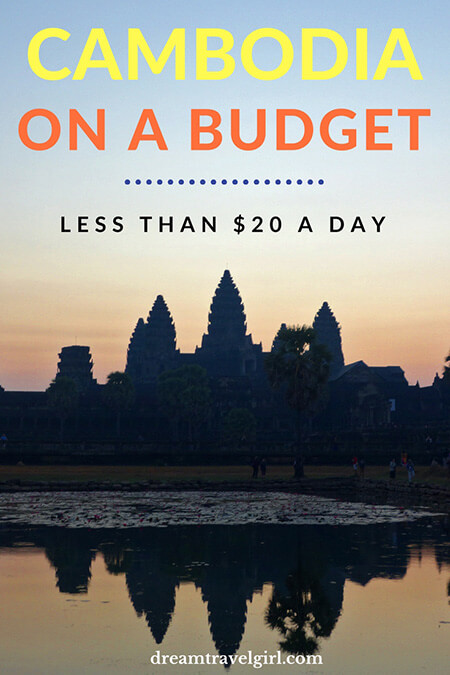 Cambodia on a budget. Traveling for less than $20 a day. Full cost breakdown