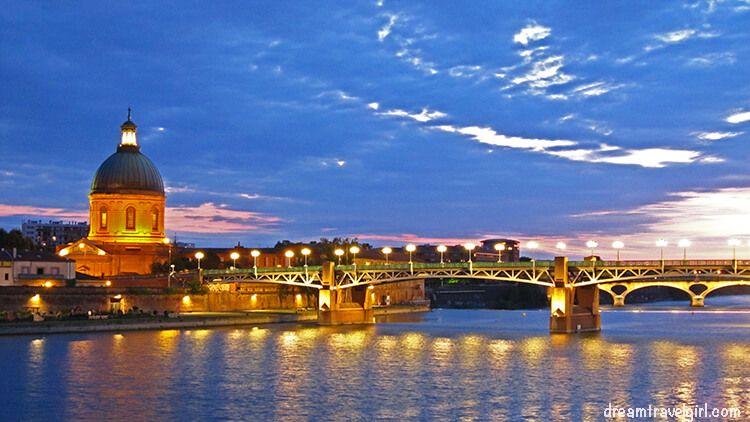 France_Toulouse_pont-st-pierre-sunset-H