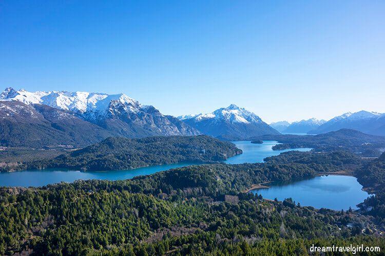 Bariloche from Cerro Campanario