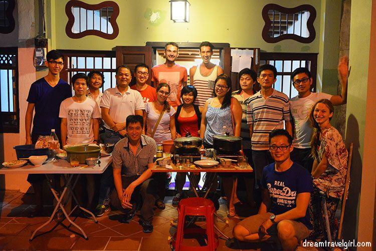 Viajar solo: haciendo amigos en couchsurfing en Penang, Malasia