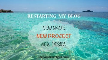 Restarting my blog: new name, new project, new design