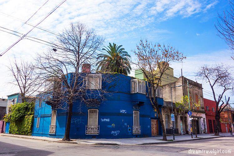 Random street in La Boca
