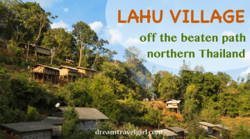 Lahu village: exploring off the beaten path northern Thailand