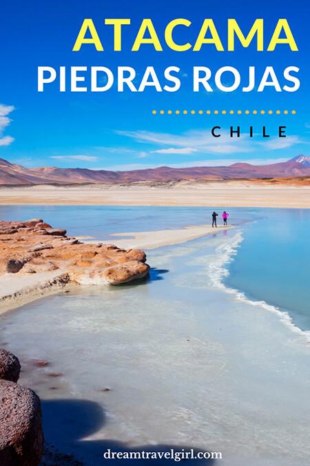 Atacama in Chile is breathtaking! Explore the most unreal landscapes in San Pedro de Atacama. I loved: Piedras Rojas (Red Stones) and Salar de Atacama (Atacama Salt Flats). It is a photography dream. Click the post to read more about Atacama.